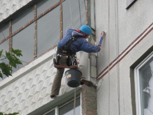 Герметизация балкона многоэтажного панельного дома