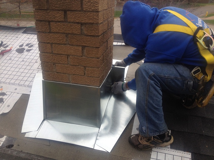 Герметизация дымохода в крыше