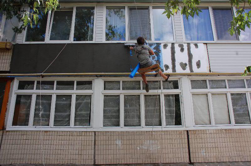 Утепление балкона в многоэтажке