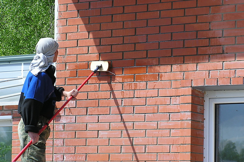 гидрофобизация фасада частного дома