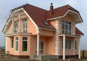 окрашивание фасада дома