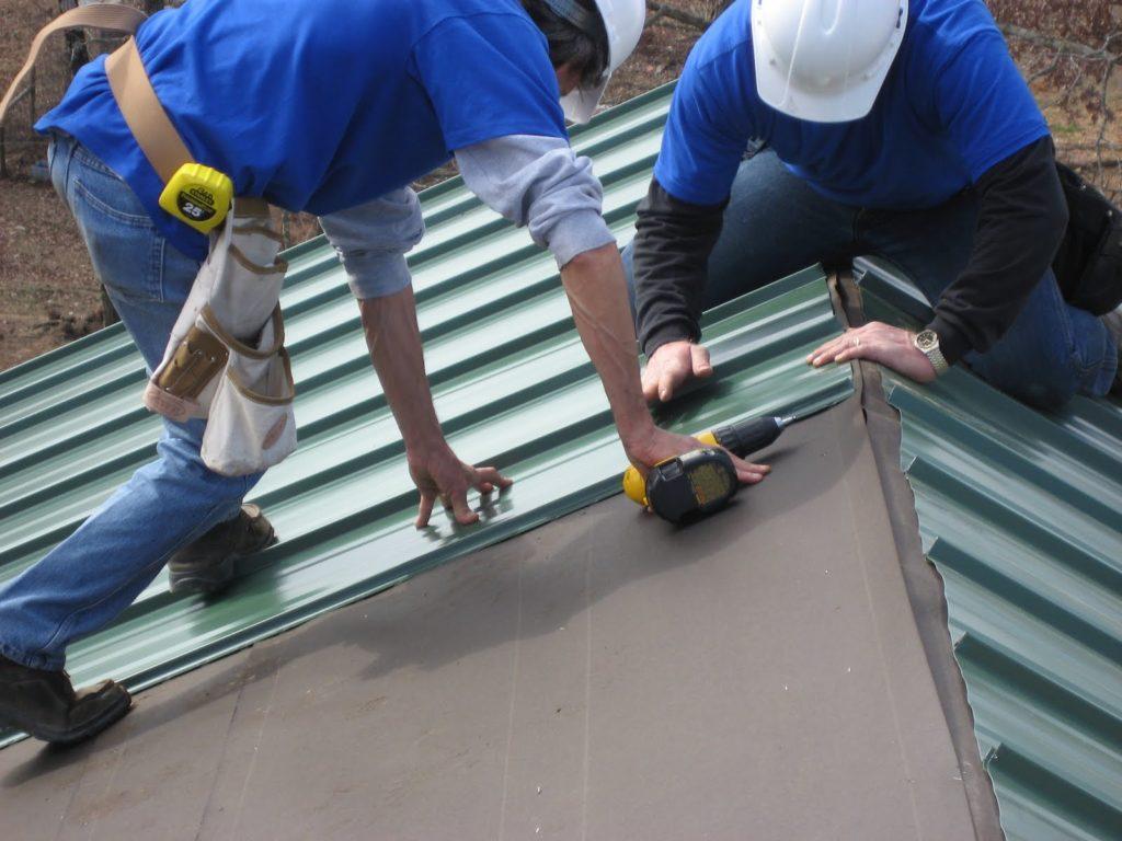 Капитальный ремонт металло крыши
