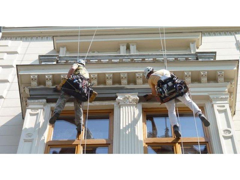 реставрация фасада дома