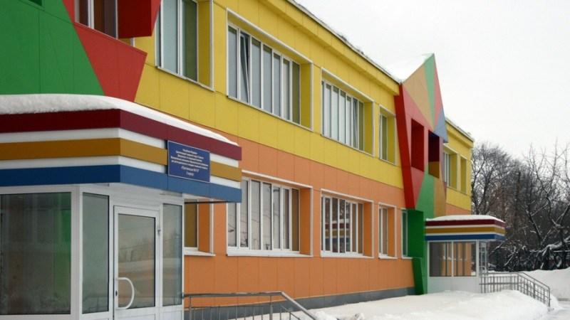 покраска стен школы