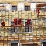 Что входит в ремонт фасада