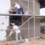 Чем отштукатурить фасад дома