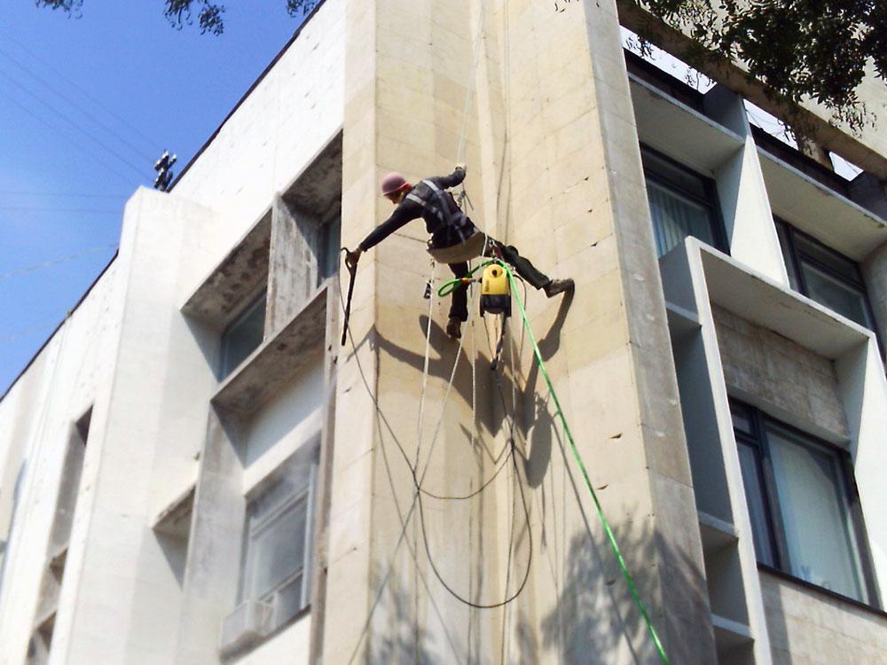 Гидрофобизация фасадов в Дмитрове