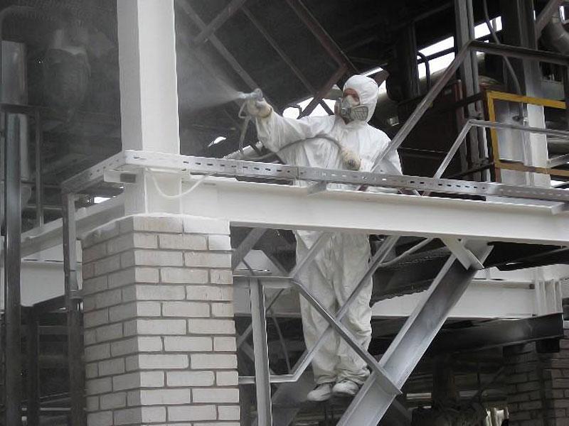 Огнезащита металла в Домодедово