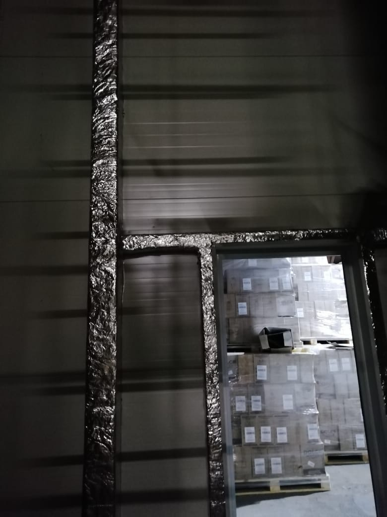 огнезащита металла на складе