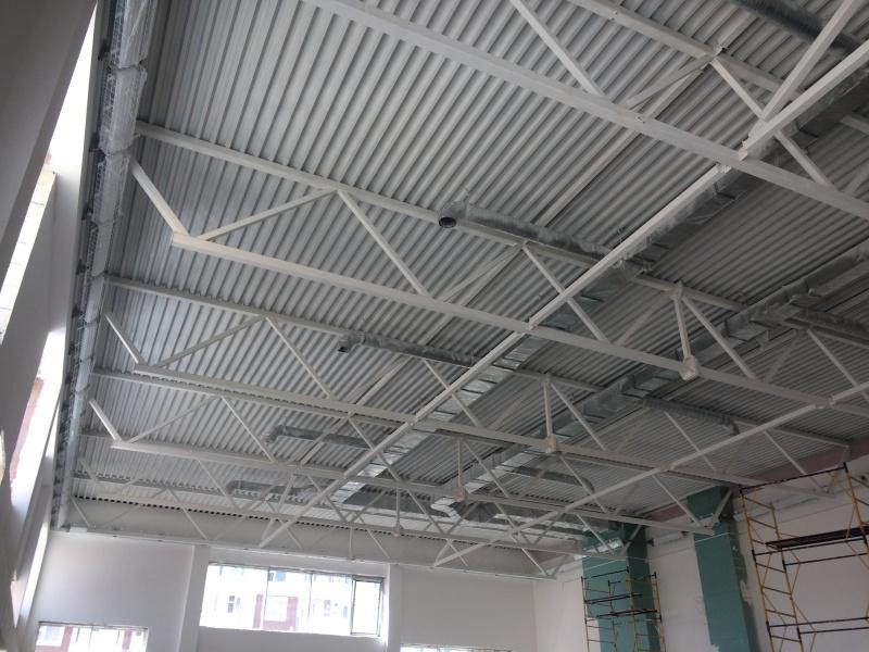 огнезащита конструкций склада