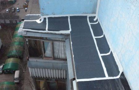 Гидроизоляция балкона цена 450 руб. кв. метр.