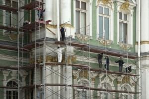 реставрация архитектурного здания