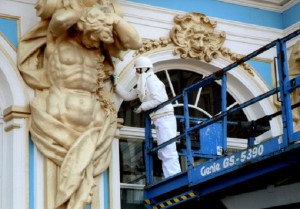 реставрация фасада здания
