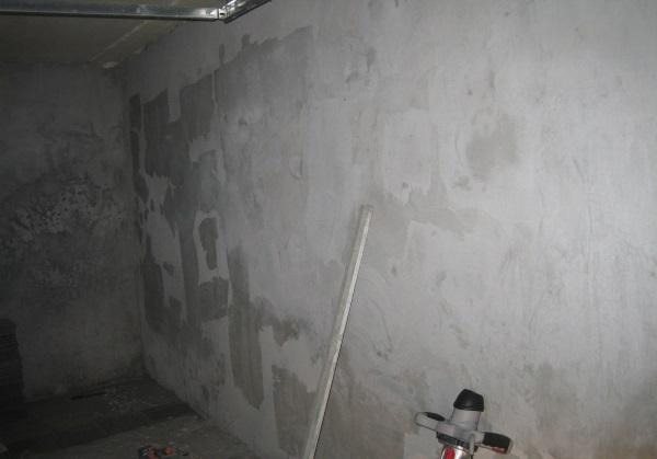 Утепляющая и цементно-известковая штукатурка
