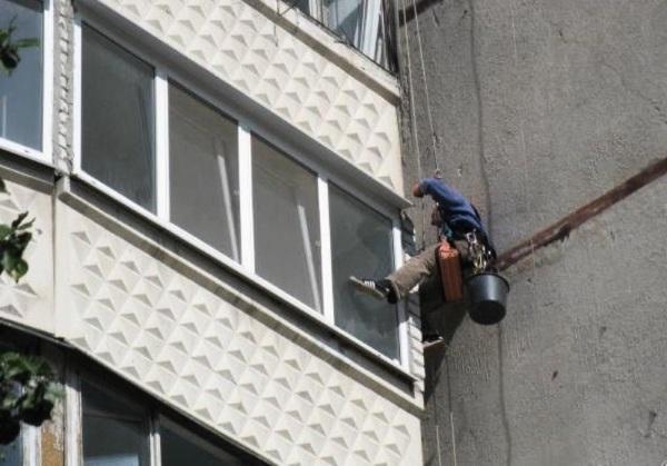 Устранение протечек на лоджии или балконе