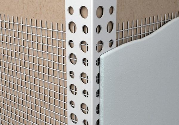 Армирование наружных углов при штукатурке стен из газобетона