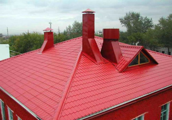 Герметизация крыши дома